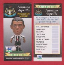 Newcastle United Faustino Asprilla Colombia PL327